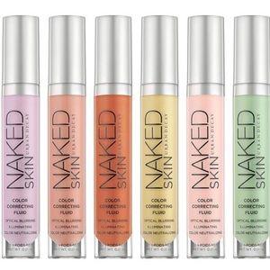 Naked skin color correcting fluid bundle
