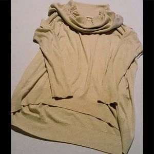 Victoria's Secret Tan Cowl Neck Sweater