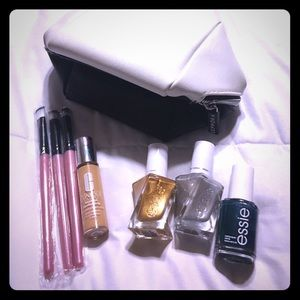 """New Sephora Bag with polishes & other goodie!""""s"""
