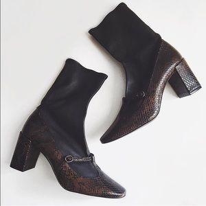 Zara Mary Jane Sock Boot
