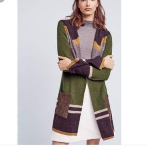 "Anthropologie ""Angel of the north""}•wool Cardigan"