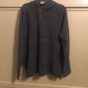 Navy blue men's pullover sweater super cozy 👨🏻
