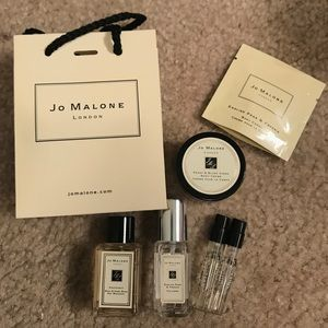 NWOT Jo Malone sample lot 6 pieces