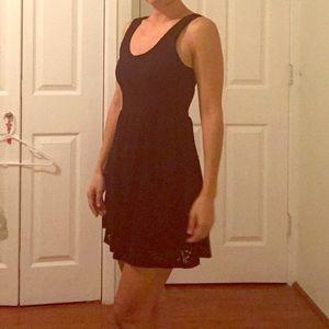 The Lacy Little Black Dress