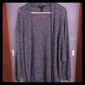 Forever 21 Heather Gray Cardigan sweater