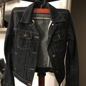 Dark Denim Gap Jacket Style 1969 (XS)