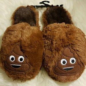 Kids Chocolate Brown Poop Fur Fluffy Scandals