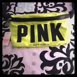 NWT * Pink By VS Fanny Pack
