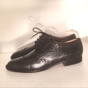 KENNETH COLE 6M WINGTIP OXFORDS SHOES LEATHER SOLE
