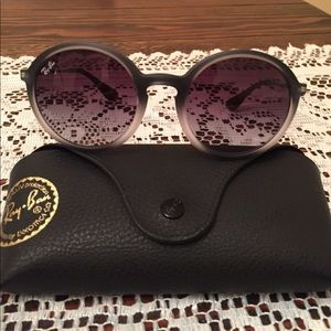 Authentic Ray Ban round sunglasses