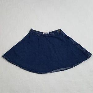 American Apparel Denim Circle Skirt - Medium