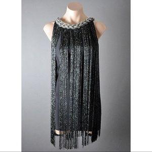 Great Gatsby/ 20s fringe dress