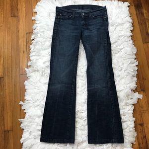 7fam dojo jeans size 25