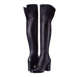 Via Spiga Beline Leather Over The Knee Boots US 5
