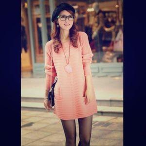 Beautiful Light Pink Sweater Dress ✨EUC✨