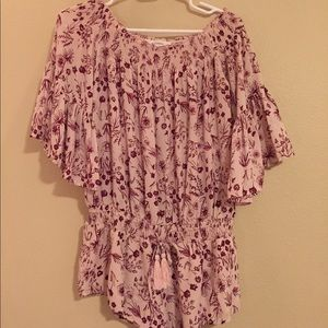 Floral romper from Nasty Gal