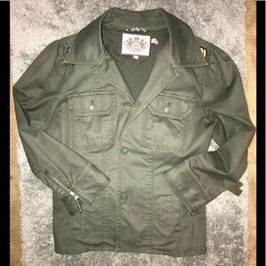Juicy Couture army blazer