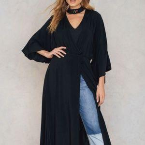 NAKD Fashion Boho Coat Dress