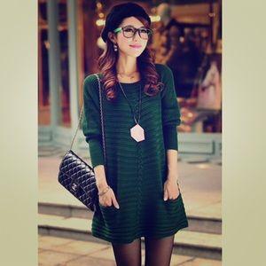 Beautiful Green Sweater Dress ✨EUC✨