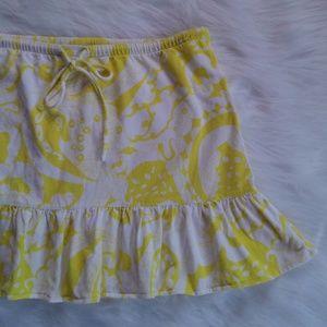 J. Crew Floral Mini Skirt