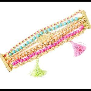 Lilly Pulitzer Bohemian magnetic Tassel Bracelet