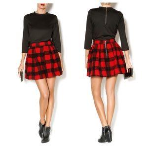 Molly Plaid Skirt