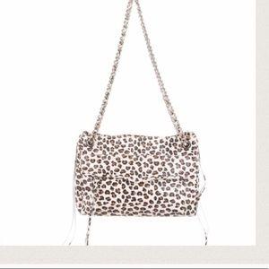Rebecca Minkoff leopard swing bag