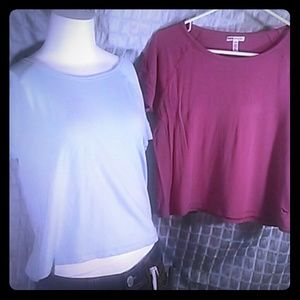 Two pink super soft t-shirts