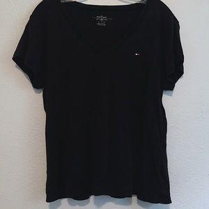 NEW Tommy Hilfiger Black Basic T Shirt