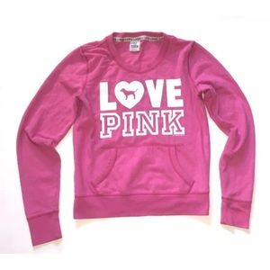 Victoria Secret Love Pink Crewneck size Small