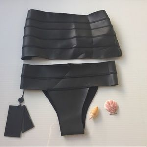 NWT Mikoh Neoprene Surf Set, Small