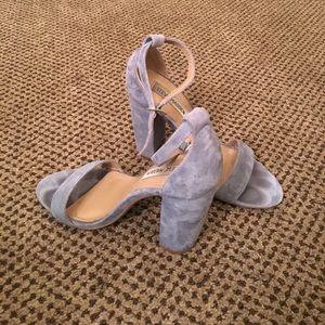 Steve Madden Carrson Powder Blue Heels