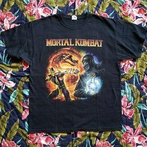 Vintage Mortal Kombat Tee Shirt