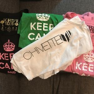 Chive Tees and Tank