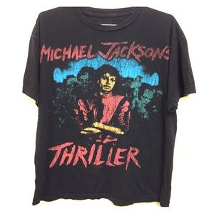 Michael Jackson Thriller T-Shirt with Zombies