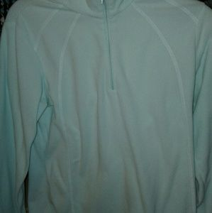Teal colombia pullover fleece