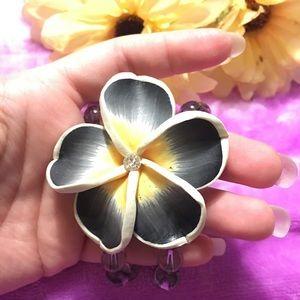 Santa Flower Bracelet