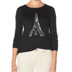 Eiffel Tower sweater from the Limited