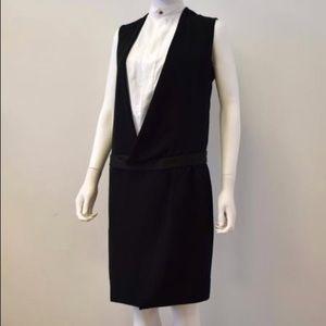 CELINE tuxedo dress