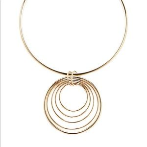 Kenneth Jay Lane gold necklace NWT