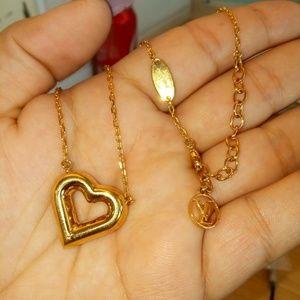Lv and me Heart bracelet