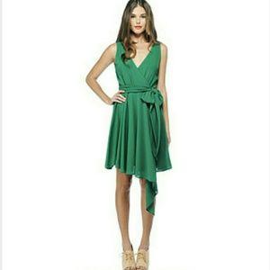 Green BB Dakota Harmony Wrap Dress