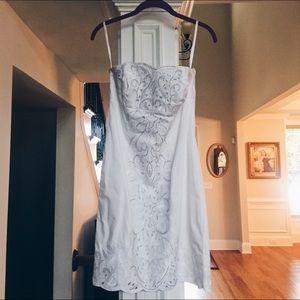 Little White Dress - beading