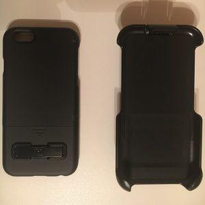 Black Holster Case w/Kickstand