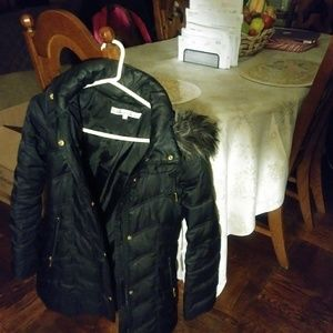 Kenneth Cole black puffer coat size small