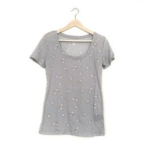 Urban Outfitters grey tennis tee