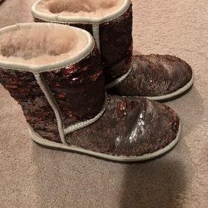 New ugg sparkle boots size 6