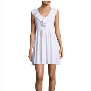 Susana Monico white dress NWOT Size Medium