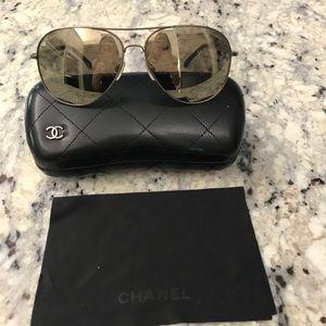 Women's Chanel Aviator Sunglasses
