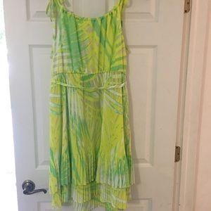 Lane Bryant Lime Dress